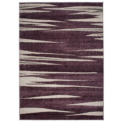 Home & Haus Jasp Dark Lilac Area Rug