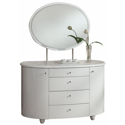 Home & Haus Aztec Dressing Table with Mirror