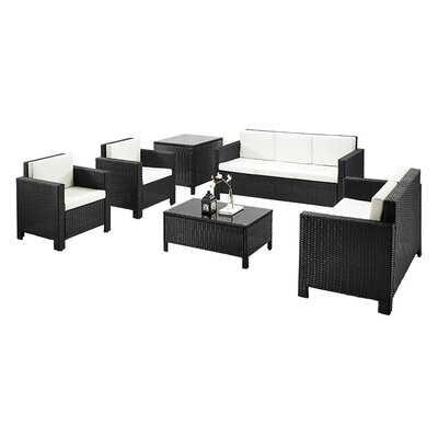 Home & Haus 7 Seater Sofa Set with Cushions