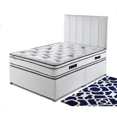 Home & Haus Tulip Pocket Sprung 1500 Divan Bed