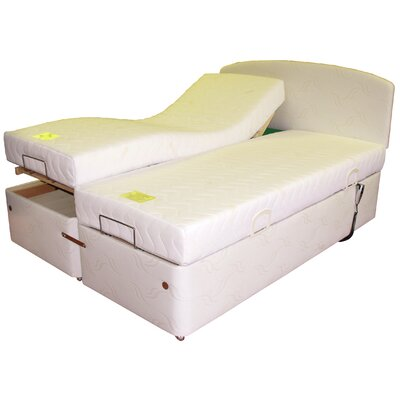 Home & Haus Dreamhouse Upholstered Adjustable Bed
