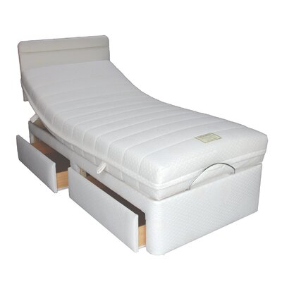 Home & Haus Latex Storage Adjustable Bed