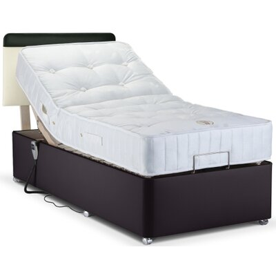 Home & Haus Upholstered Adjustable Bed