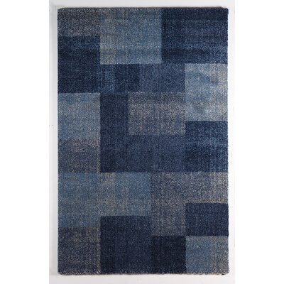 Home & Haus Adelit Blue Area Rug