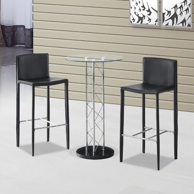 Home & Haus Rowan Dining Table and 2 Chairs