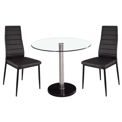 Home & Haus Maxie Dining Table and 2 Chairs
