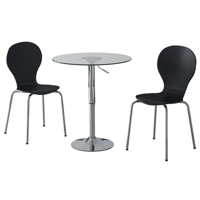 Home & Haus Nolan Dining Table and 2 Chairs