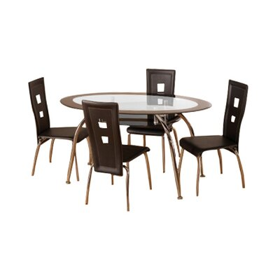 Home & Haus Orson Dining Table and 4 Chairs