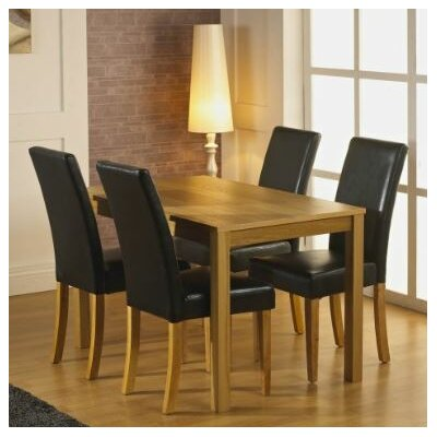 Home & Haus Dalyston Dining Table and 4 Chairs