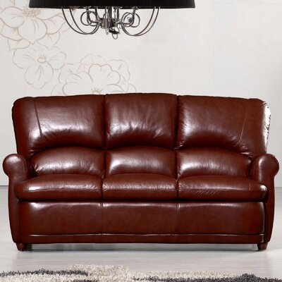 Home & Haus Leather 3 Seater Sofa