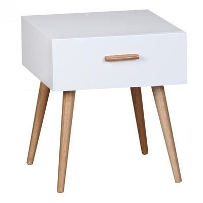 Home & Haus Ayo 1 Drawer Bedside Table