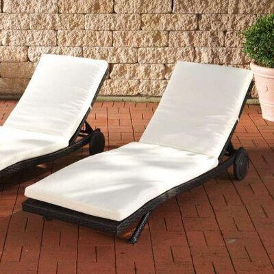 Home & Haus Spree Sun Lounger Set with Cushions