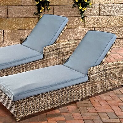 Home & Haus Marissa Sun Lounger Set with Cushions