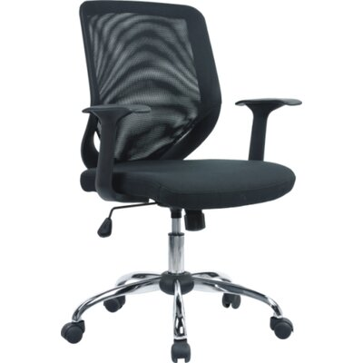 Home & Haus Operator Mid-Back Mesh Executive Chair with Lumbar Support