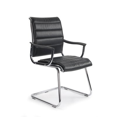 Home & Haus Visitor Chair with Nylon Arm