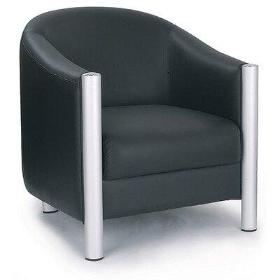 Home & Haus Italian Leather Tub Chair