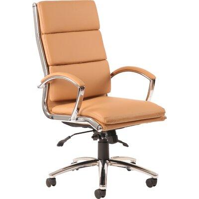 Home & Haus Alcatraz High-Back Leather Executive Chair