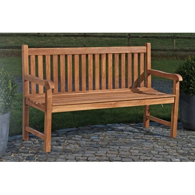 Home & Haus Oughter 2-Seater Teak Bench