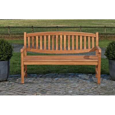Home & Haus Ree Teak Wood Garden Bench