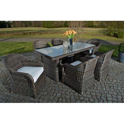 Home & Haus Kielder 7-Piece Dining Set