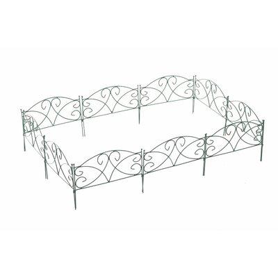 Home & Haus Caddoout 22 x 30cm Border Fence Set