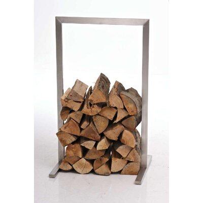 Home & Haus Yangudi Stainless Steel Firewood Stand