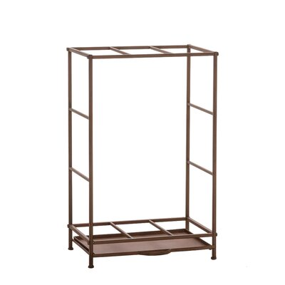Home & Haus Bermejo Iron Firewood Stand