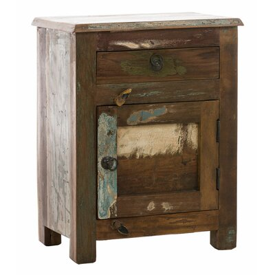 Home & Haus Ob-Irtysh Night Stand with Drawer