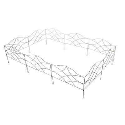 Home & Haus Bangweulu 23 x 30cm Border Fence Set