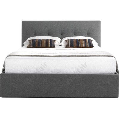 Home & Haus Banyan Upholstered Storage Bed Frame