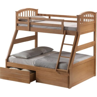 Home & Haus Ennis Triple Sleeper Bunk Bed with Storage