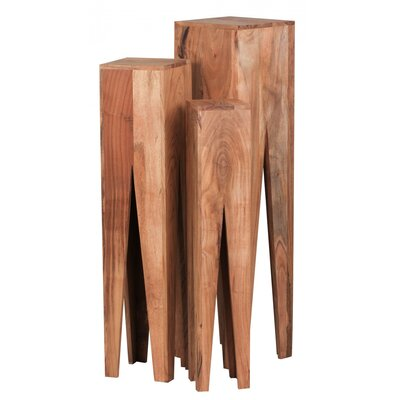 Home & Haus 3-Piece Plant Stand Set
