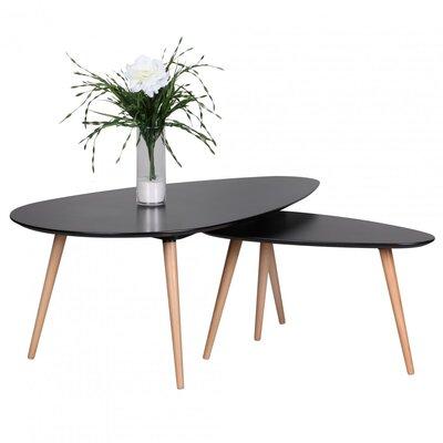 Home & Haus Ayo 2-Piece Coffee Table Set