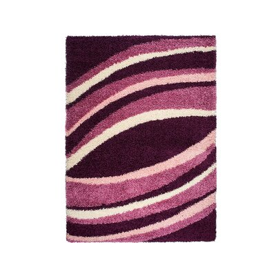 Home & Haus Agate Dark Purple Area Rug
