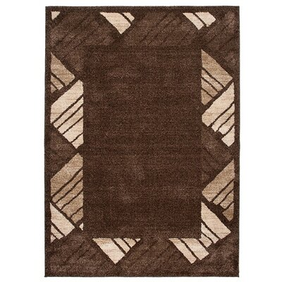 Home & Haus Jasp Brown Area Rug