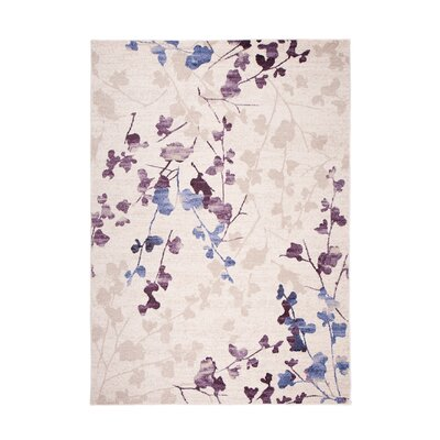 Home & Haus Leggo Purple Area Rug