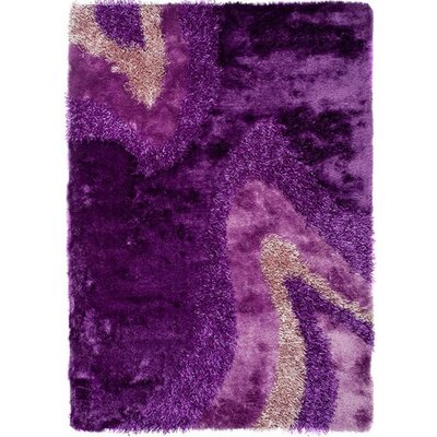 Home & Haus Zircon Purple Area Rug