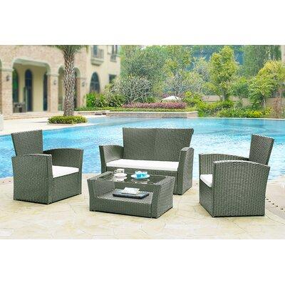 Home & Haus Garden Sofa Set