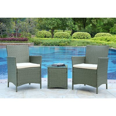Home & Haus 2 Seater Bistro Set