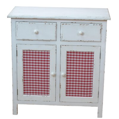 Home & Haus 3 Door 3 Drawer Chest of Drawers