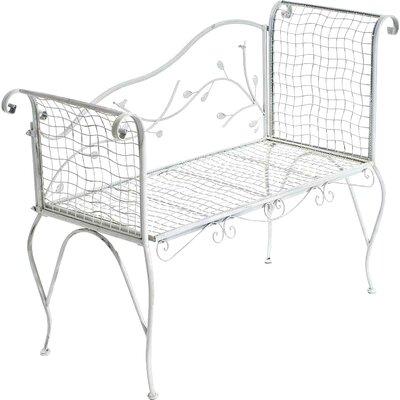 Home & Haus Hauroko 3-Seater Metal Bench
