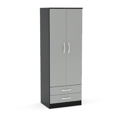 Home & Haus Lincoln 2 Door Wardrobe