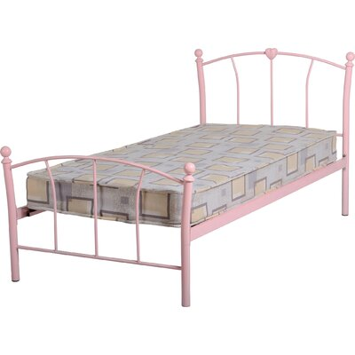 Home & Haus Caitlin Single Wrought Iron Bed