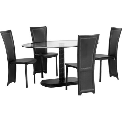 Home & Haus Beane Dining Table and 4 Chairs