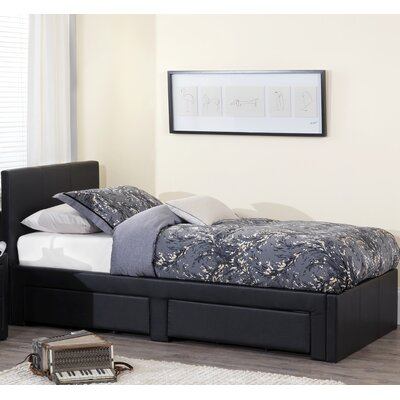 Home & Haus Surat Single Upholstered Storage Bed