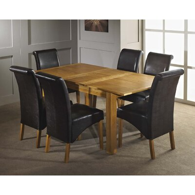 Home & Haus Lavers Hill Extendable Dining Table