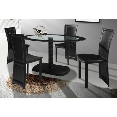 Home & Haus Jonah Dining Table and 4 Chairs