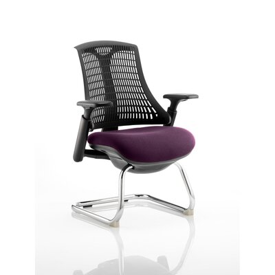 Home & Haus Brighton Mid-Back Cantilever Office Chair with Arms