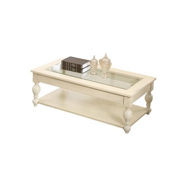 Home & Haus Coady Coffee Table with Magazine Rack