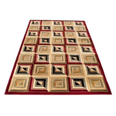 Home & Haus Spinal Green Area Rug